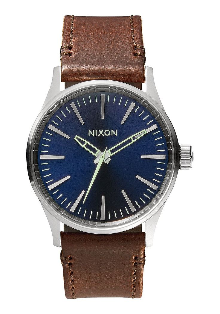 Nixon Watch Sentry 38 Leather This one has the top spot on my affordable watch list.