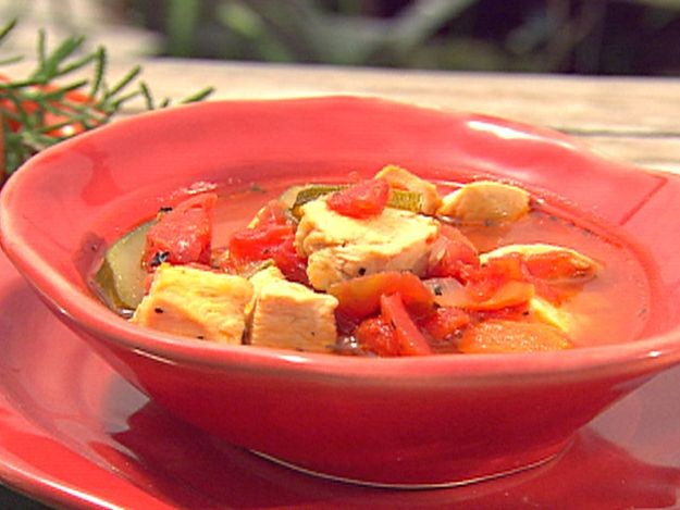 My mom showed me this -its so easy!! And sooo good!!        :Italian Chicken and Vegetable Soup Recipe :  Paula Deen : FoodNetwork.com