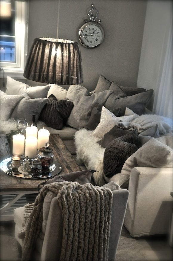 Cozy: Gray, beige, cream
