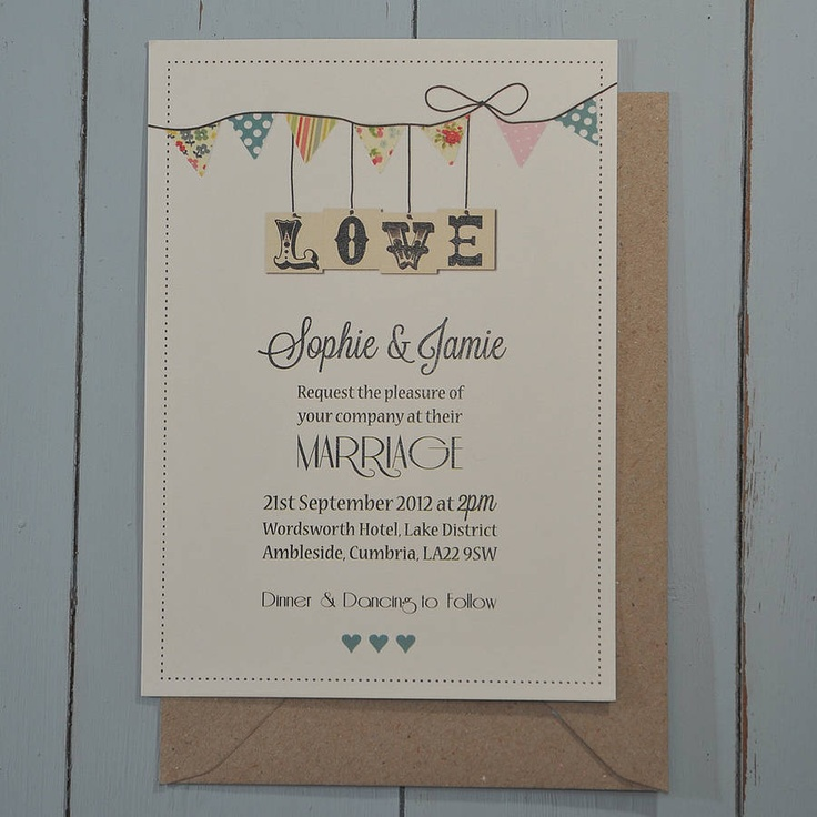 watch wedding invitation movie online eng sub%0A Are you interested in our country bunting wedding stationery  With our  english bunting wedding invitations you need look no further