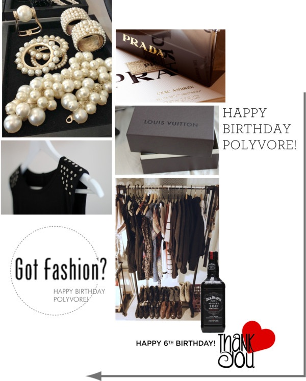 """I heard it's POLYVORE's birthday,..."" by fatal-poison-4-u ❤ liked on Polyvore"