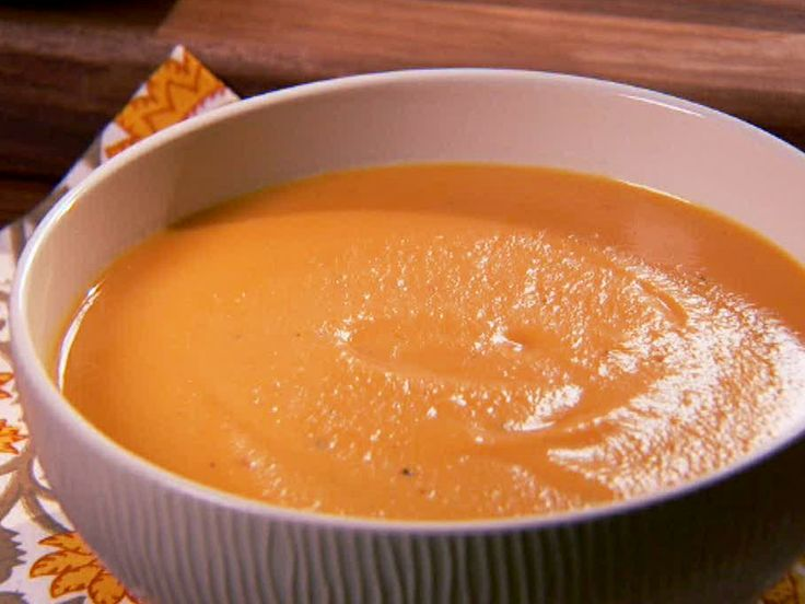 Sweet Potato Bisque from FoodNetwork.com