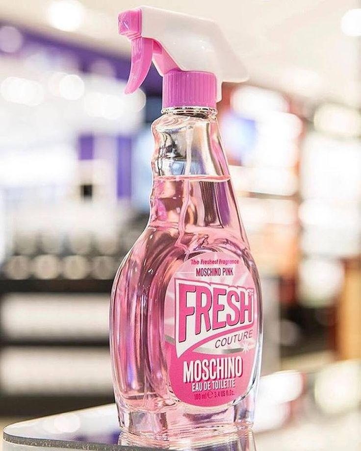 Discover the new Moschino Pink Fresh Couture