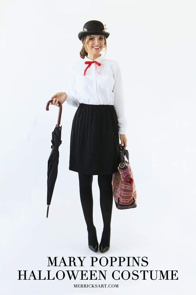 MODERN GIRL'S HALLOWEEN WEEK: MARY POPPINS COSTUME