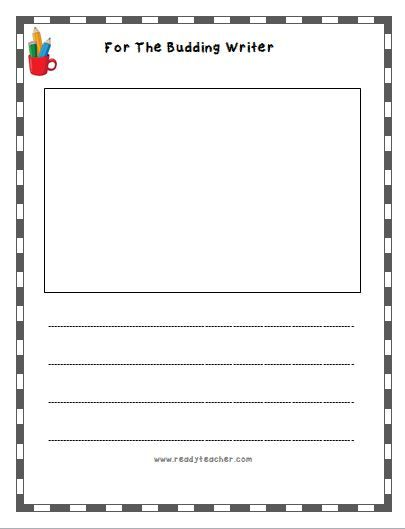25 best informational writing images on Pinterest Kindergarten - free lined writing paper