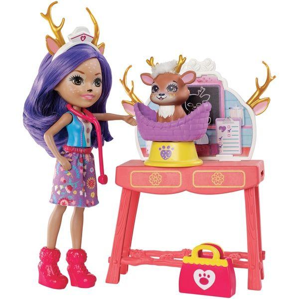 Enchantimals Doll Theme Caring Vet
