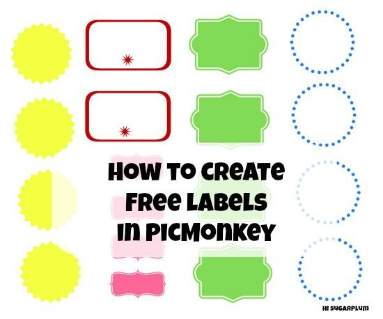 Hi Sugarplum | How To Create Free Labels by hi sugarplum!, via Flickr