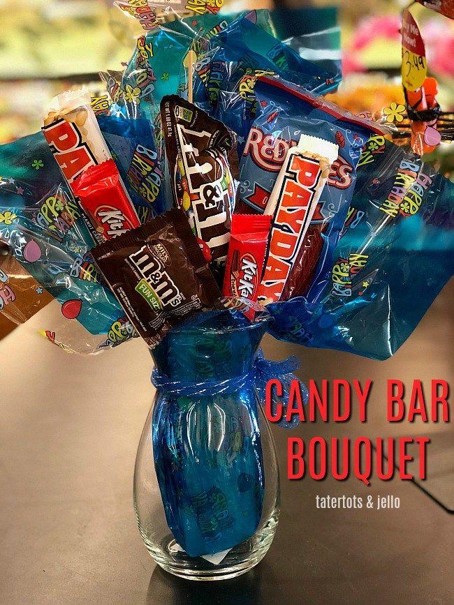 Unique candy bar bouquet ideas on pinterest