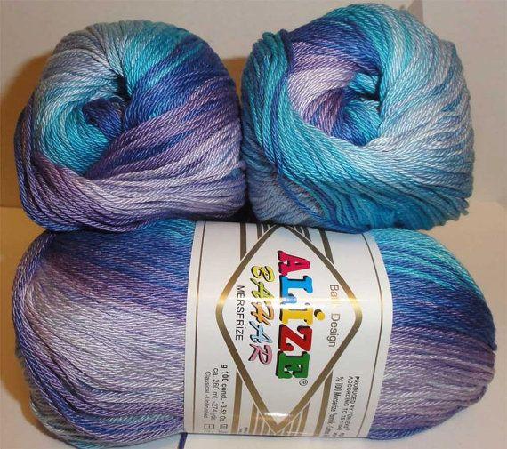 Bahar Batik yarn for knitting crochet yarn, Alize yarn for sale by reallycoolknits