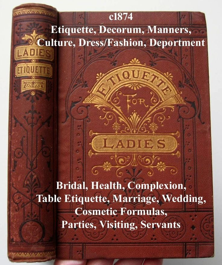 ... Etiquette Marriage Wedding Bridal Health Complexion Receipts Formulas