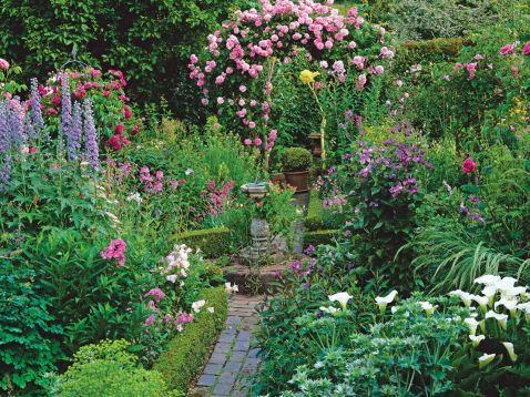 Cottage Garden Design 02