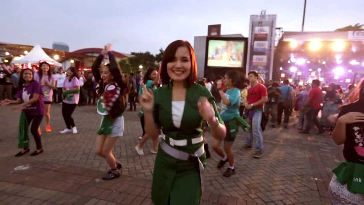 Citilink Say Hello To The World Flash Mob
