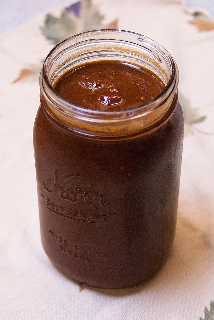 ... loads of sugar. - sweet road -: Homemade Barbeque Sauce (clean eating