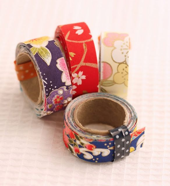 homemade tape. cool.Japan Light, Homemade Japan, Crafts Ideas, Homemade Washi, Diy Washi, Gift Wraps, Masks Tape, Washi Tape, Washitape