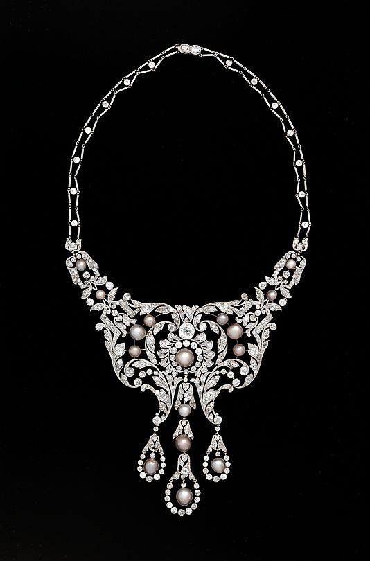 Diamond necklace, Dreicer & co, c. 1905. WOW! New acquisition in the…
