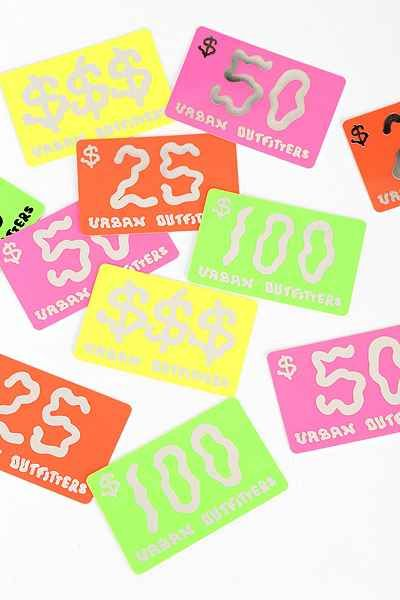 Gift Card Urban Outfitters Chrismus Wishus Urban