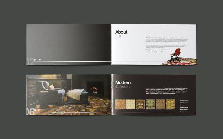 Elegant and Sleek Brochure Designs Letterheads \ Brochures - modern brochure design