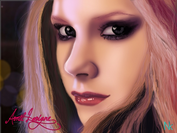 Avril Lavigne - Digital Painting