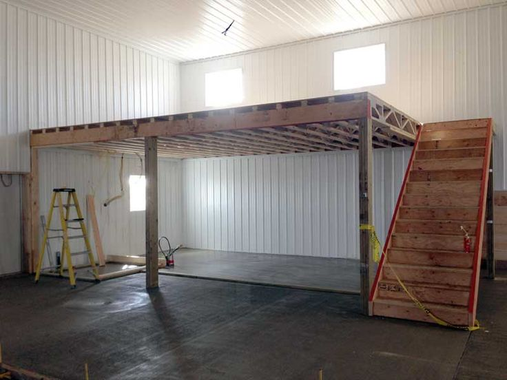How To Build A Loft In A Metal Shed