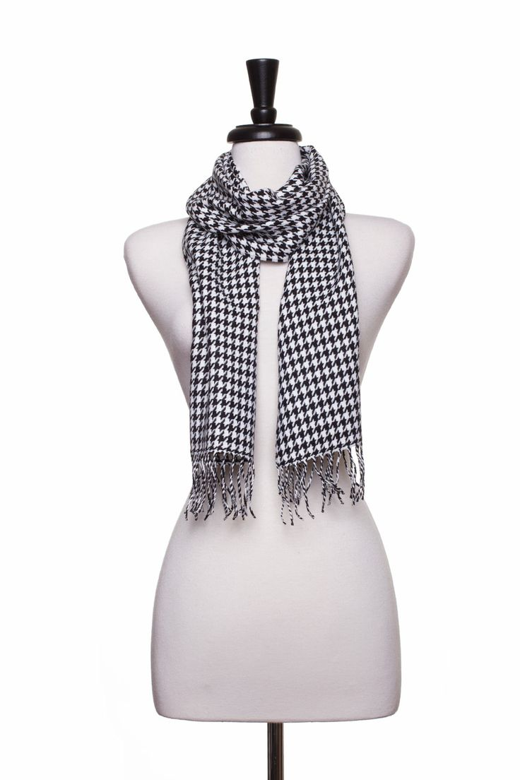 Dressing Your Truth - Type 4 Hip Houndstooth Scarf