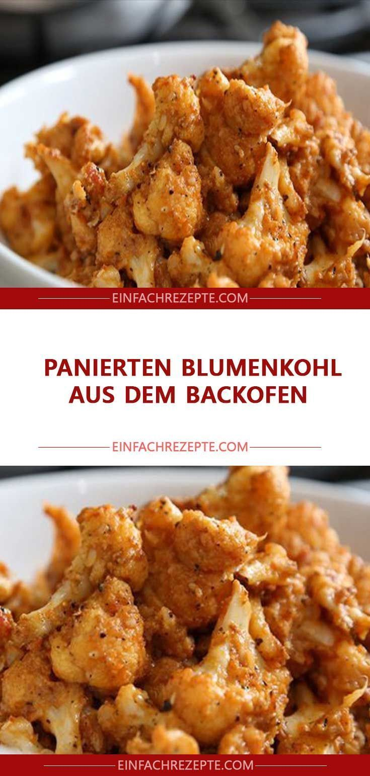 Breaded Cauliflower From The Oven Breaded Cauliflower From The
