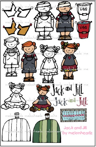 68 best melonheadz illustrating images on pinterest for Jack and jill stories