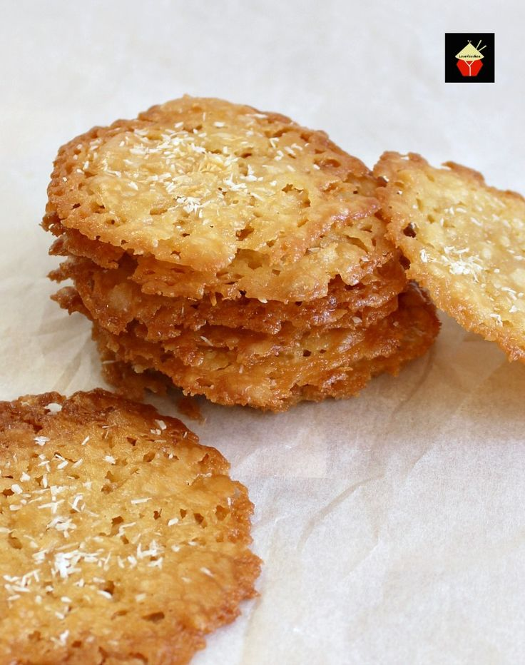 Coconut Thins! If you like crisp, caramel,coconut and sweet then these little treats are for you!