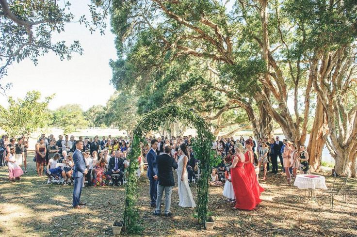 20 of the most creative wedding ceremony backdrops - find them on WedShed.