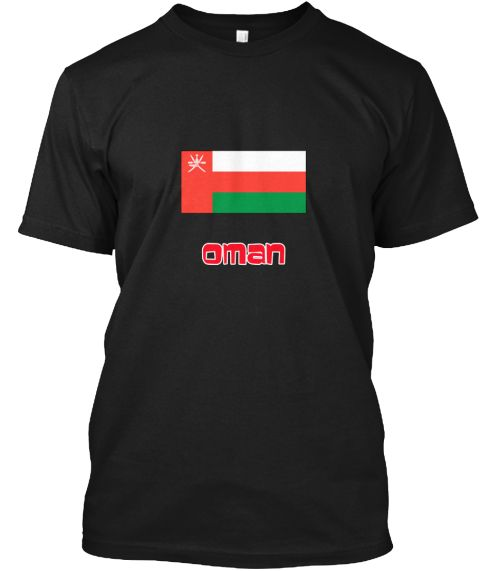 Oman Flag Retro Red Design Black T-Shirt Front - This is the perfect gift for someone who loves Oman. Thank you for visiting my page (Related terms: I Heart Oman,Oman,Omani,Oman Travel,I Love My Country,Oman Flag, Oman Map,Oman Language, Oman Design #Oman, #Omanshirts...)