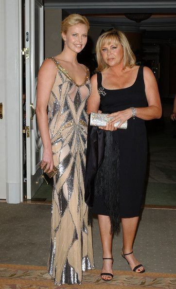 Charlize Theron Photos: Celebrities and their parents
