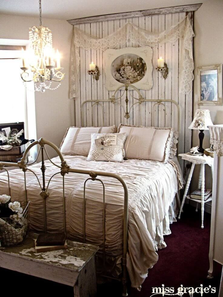 Rustic Bedroom Decor With Distressed Wood Accents In 2019