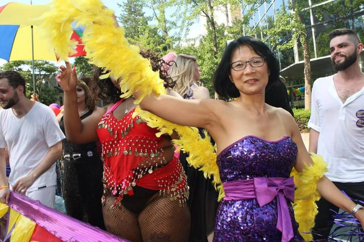 Olivia Chow at WorldPride