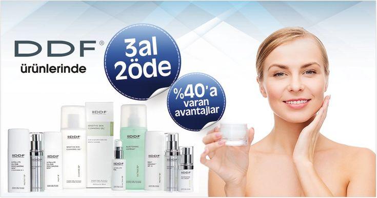 DDF Ürünlerinde 3Al2 Öde Fırsatı ! #ddf #ciltbakim #güzellik #dermokozmetik #güzellikbakim http://www.dermomarket.com/DDF-Urunleri,LA_684-2.html…