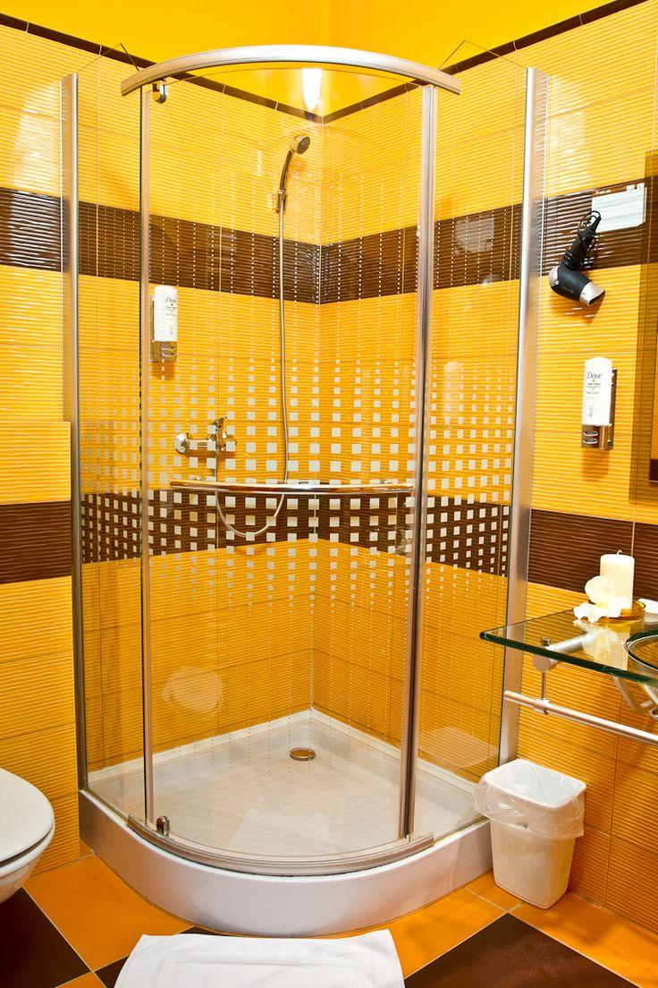 Koupelna v pokoji typu standard