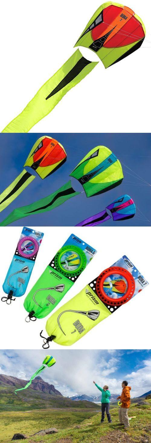 Kites 2569: Prism Bora 7 Single-Line Parafoil Kite, Blaze -> BUY IT NOW ONLY: $59.99 on eBay!