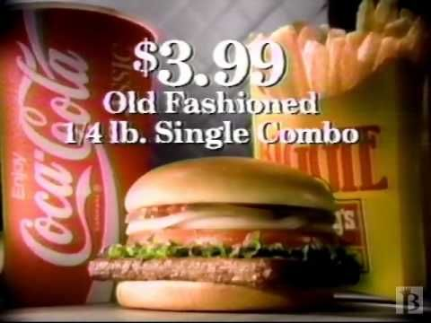 Wendy's Old Fashioned Combo Commercial 1994