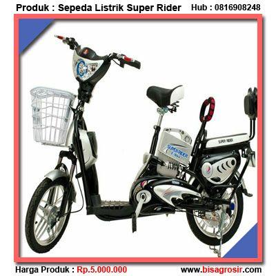 Sepeda motor listrik super rider harga murah => http://www.bisagrosir.com/2015/05/sepeda-listrik-super-rider-earth.html