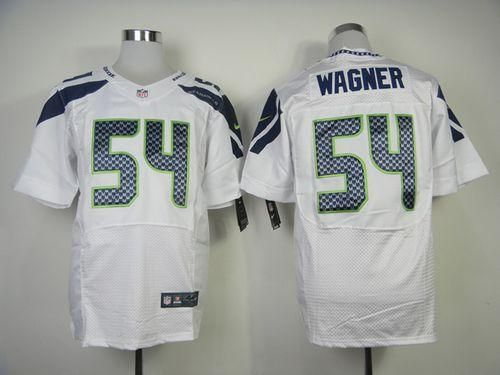 """$23.88 at """"MaryJersey""""(maryjerseyelway@gmail.com) Nike Seahawks #54 Bobby Wagner White Men's Stitched NFL Elite Jersey"""