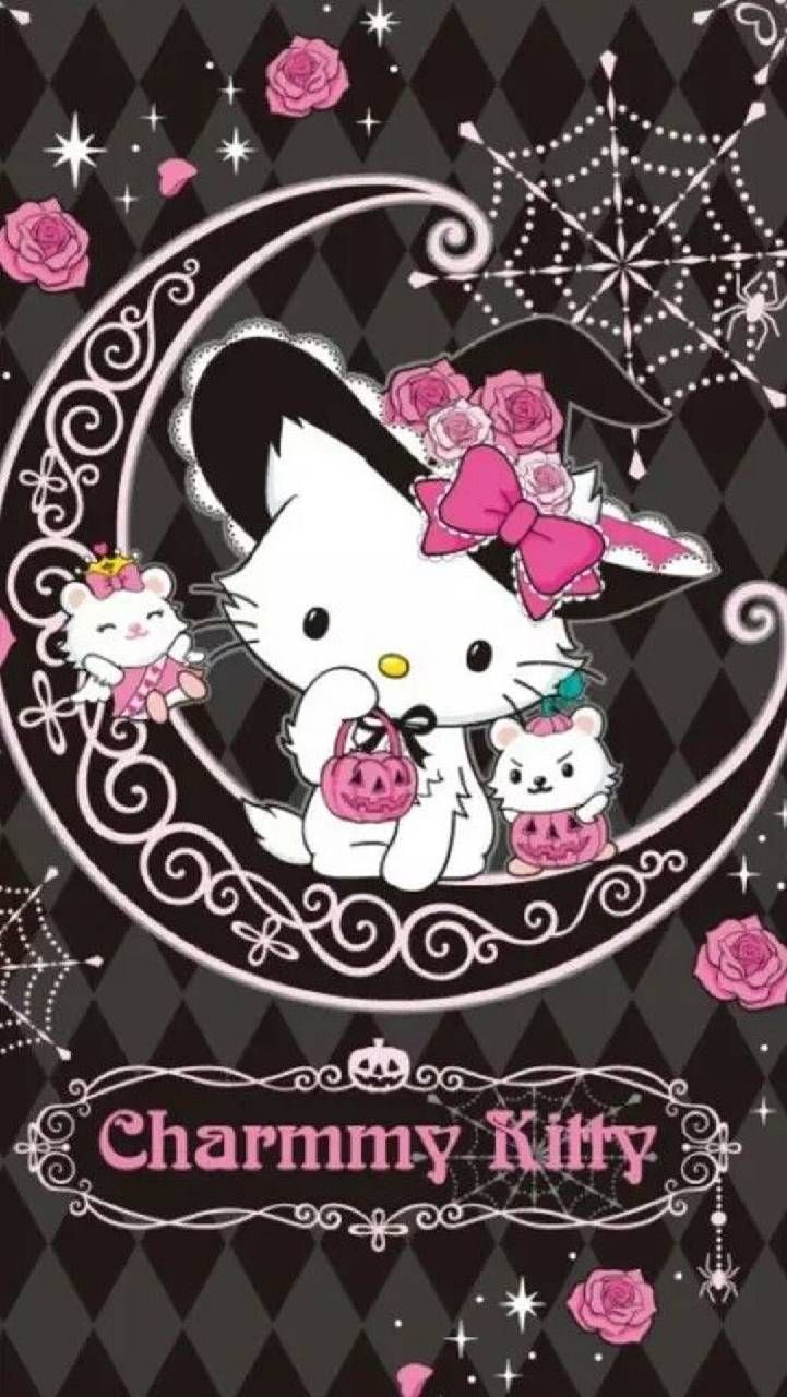 Download Charmmy Kitty Wallpaper By Zakum1974 D1 Free On Zedge Now Browse Millions Of Hello Kitty Pictures Hello Kitty Halloween Hello Kitty Backgrounds