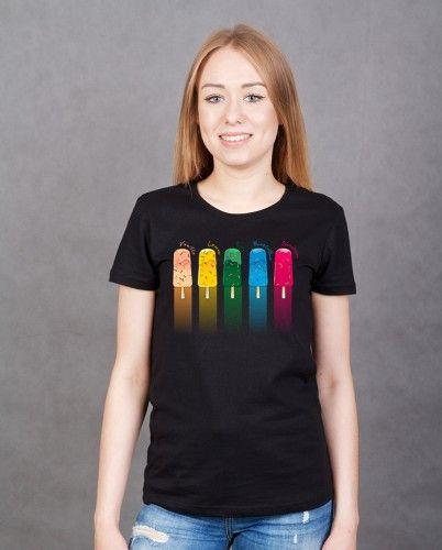 LODY (T-shirt damski classic czarny) - tylko 37,50 PLN