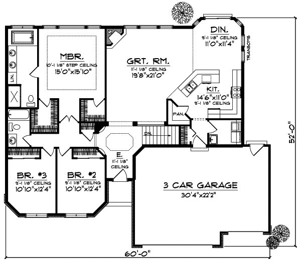 1000 Ideas About Ranch Floor Plans On Pinterest House