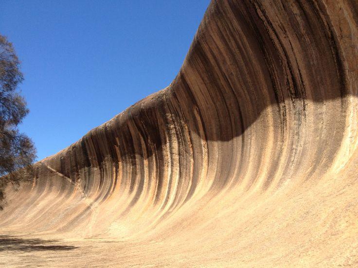 Wave Rock in Hyden, WA