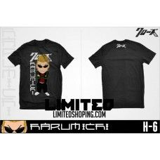T-Shirt terbaru Crows Zero#Harumichi Chibi#pin BB:	21320945