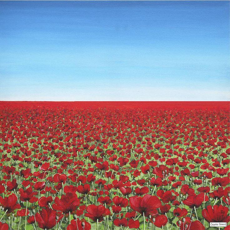 Opening Horizon Poppies Fine Art Print