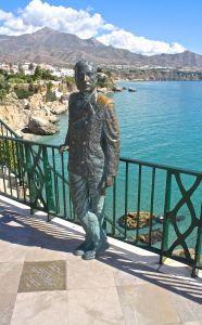 Statue of King Alfonso XII Balcon de Europa Nerja