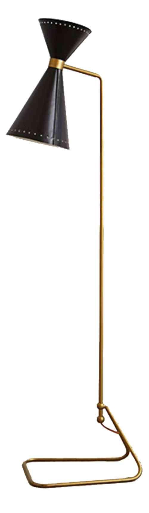 Unique tall floor lamp