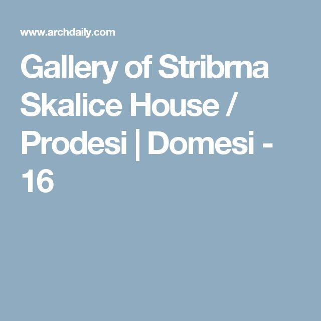Gallery of Stribrna Skalice House / Prodesi | Domesi - 16