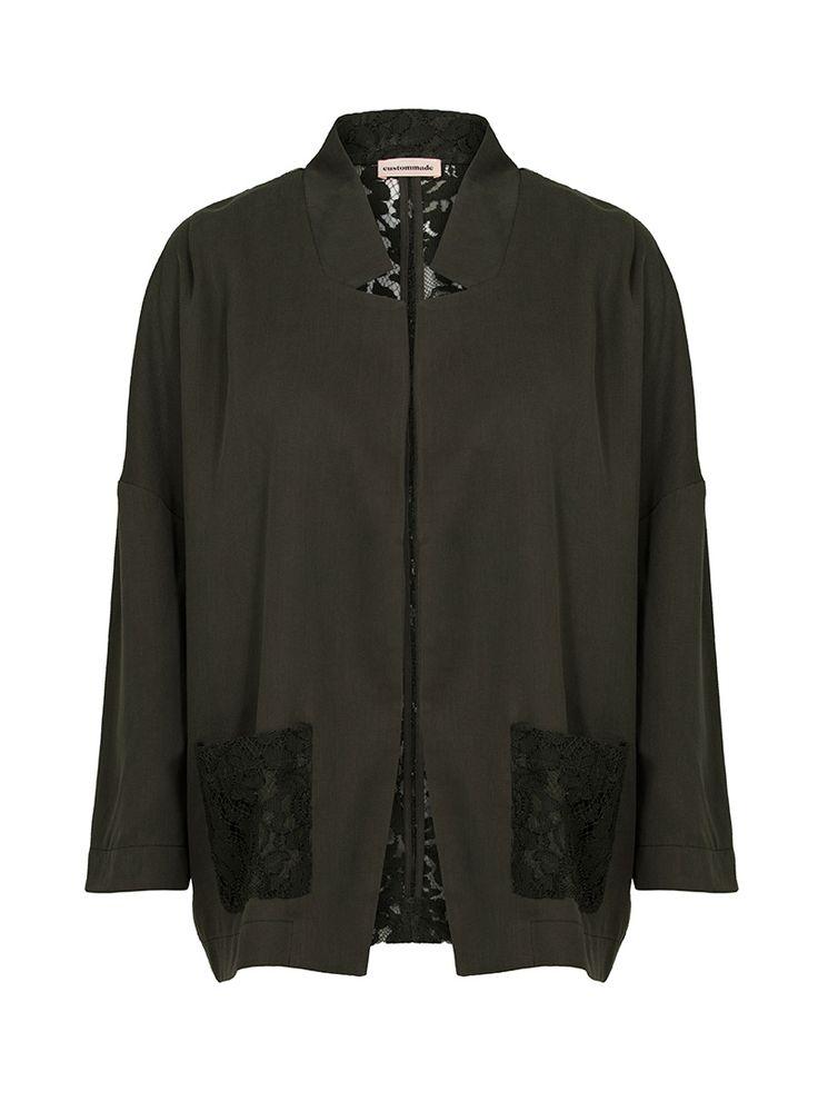Dominika Oversized Lace Jacket | Custommade.dk
