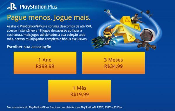 O preço do PlayStation 4 no Brasil causou estardalhaço e grande comoção, talvez agora a Sony possa se redimir com o público do país. A PlayStation Plus, serviço pago oferecido para usuários do PlayStation, está chegando oficialmente em nossas terras.Até o momento, a única possibilidade de contratar