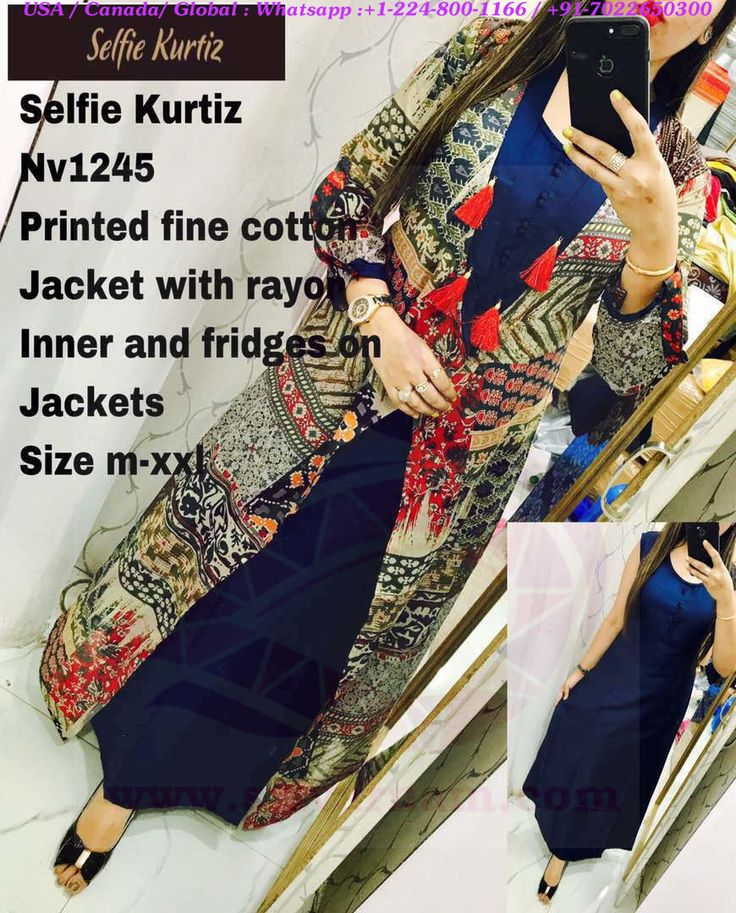 SriVarnam New Arrivals of Latest Selfie Kurti Cotton tops collections can be purchased from us! Whatsapp us for the products: +91-7022650300 / +1-224-800-1166 Paypal/Credit/Debit card payment options available....  visit us at www.srivarnam.com  www.facebook.com/srivarnam.inc